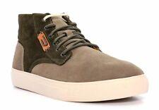 DIESEL Y01254 PR047 H5892 E-LAARCKEN MID Mn's (M) Olive Suede Mid-Top Shoes