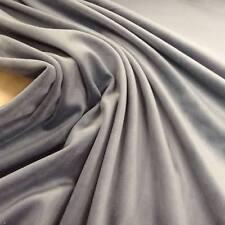 Premium Smokey Quartz  Dark Grey Heavy So Soft Velvet Curtain/upholstery Fabric