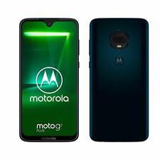 Motorola Moto G7 Plus Single SIM Smartphone 6,2 Zoll (15,75 cm) 64GB blau / rot