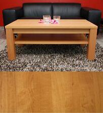 Couchtisch Lounge Tisch Buche Massivholz nach Maß Echtholz Ablage optional