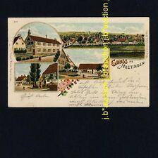 MIETINGEN OA Laupheim / Wirtschaft * AK um 1900 - Litho