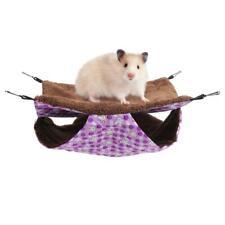 1Pcs Hamster Hanging Cage Hammock House Pet Ferret Rat Squirrel Sleeping Bag