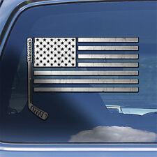 USA Flag Ice Hockey Decal Sticker - American flag ice hockey stick decal sticker