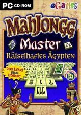 Mahjongg Master-sconcertante Egitto (PC Gioco da tavolo) NUOVO OVP
