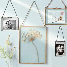 Vintage-Stil. Doppelseitig Hängender Beispiel Rahmen Pflanzenmuster Rahmen