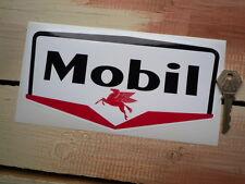 "Mobil BENZINAIO Classica Adesivi Auto 8"" Paio 50s petrolania Race Racing BENZINA"