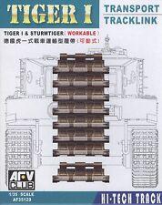AFV Club 1/35 AF35129 WORKABLE Transport Track Link for Tiger I and Sturmtiger