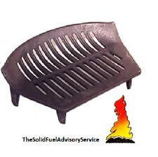 "Fire Grate Cast Iron 12"" 14"" 16"" 18"" Fireplace Log Coal Open Stool CHOOSE SIZE"