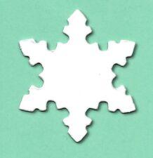 20 Sml Snowflake christmas die cuts sizzix xmas snow flake card making 5x5cm