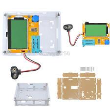 LCR-T4 ATmega328 Digital Transistor Tester 12864 LCD Capacity ESR Meter+Case