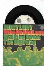 7'Juicy Luicy  Who Do You Love/Walking Down The Highway  SWIRL VERTIGO