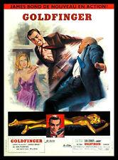 Goldfinger FRIDGE MAGNET 6x8 James Bond Magnetic Movie Poster