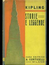 STORIE E LEGGENDE  KIPLING CORTICELLI 1930