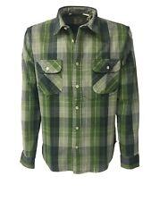 LEVI'S VINTAGE CLOTHING camisa de hombre cuadros 100% algodón MADE IN ITALY