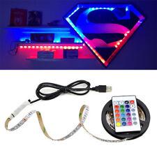 DC5V 2835 USB LED Strip Light  SMD USB Cable Power RGB LED Light lamp Flexible