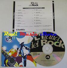 CD L'ITALIA DEL ROCK 4 BATTISTI BENNATO FORMULA 3 NEW TROLLS 1994 (C4*) NO lp mc
