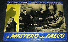 FOTOBUSTA 1, IL MISTERO DEL FALCO The Maltese Falcon BOGART CINEMA NOIR POSTER