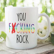 Nouveauté funny tasses à café vous F cking Rock meilleur ami Gobelet