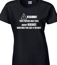 randonnée femmes t-shirt drôle Hobby décoration marche RAMBLER Trek TRACE