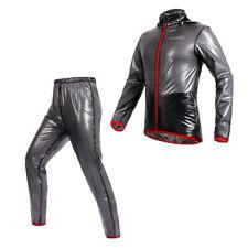 Thin Waterproof Windproof Cycling Jersey Raincoat Rain Suit Jacket and Pants