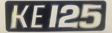 KAWASAKI KE125 SIDE PANEL OR EXHAUST DECAL