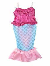 Bilo Kids Girl's Princess Mermaid Dress Halloween Party Costume