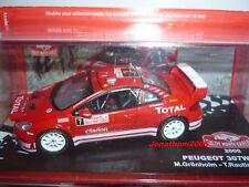 PEUGEOT 307 WRC RALLYE  MONTE CARLO 2005  au 1/43°