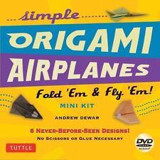 Simple Origami Airplanes Mini Kit: Fold 'Em & Fly 'Em!: Kit with ...