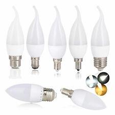 E12 LED Bulb Chandelier Flame Candle Light E26 E27 E14 B22 3W 2835SMD Lamp GL112