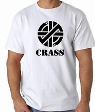 CRASS SYMBOL Punk T-Shirt 100% Cotton FREE UK POST Rocker Music