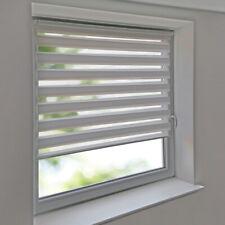Duo-Rollos Doppelrollos Premium Klemmfix ohne Bohren Fenster Tür Rollo weiß