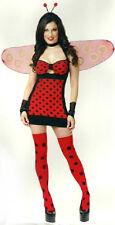 Lady Bug Hottie Ladybug Animal Insect Fancy Dress Halloween Sexy Adult Costume