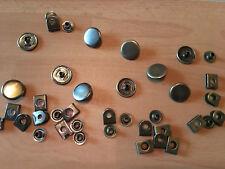 (1,06 € / Stück)  5 Stück Hosenhaken 16,8 mm Nickel Antik & Altmesing zu Auswahl