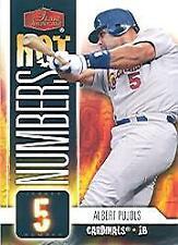 2006 Flair Showcase Hot Numbers Baseball Card Pick