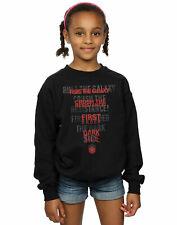 Star Wars Girls The Last Jedi Dark Side Echo Sweatshirt