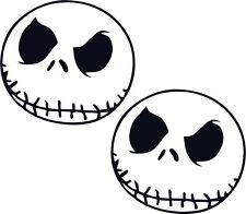 2 x Jack Skellington Nightmare Halloween Car Vinyl Sticker Graphic Decal Funny