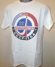 Interkosmos 80s union soviétique programme spatial t shirt cuba urss soyouz socialiste 127
