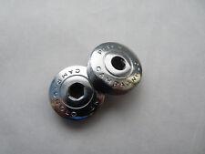 Campagnolo Crankset Dust Caps Patent Nuovo & Super Dustcaps Vintage pair NOS