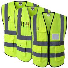 92e11c32 Reflective Safety Vest With Pockets Working Clothes Hi vis jacket
