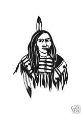 Indianer Aufkleber Auto Sticker Tuning m238