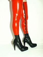 High heels, stiefel latex gummi-100% -size 35-47 producer -Polen -heels 13cm