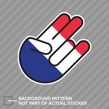 French Shocker Sticker Decal Vinyl France FRA FR
