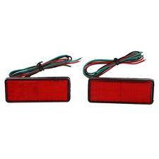 1X(2x LED rojo Reflectores de luz LED de cola de parada del freno Luz laterS1L6)