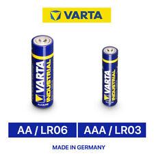 AAA oder AA ORIGINAL VARTA Mignon Industrial ALKALINE Batterien LR06 LR03 #2