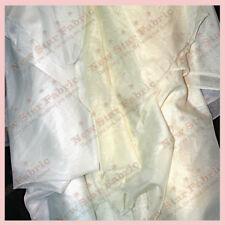 "10 Yards 120"" Wide Voile Chiffon Fabric Sheer Draping Drape Panel Dress Wedding"