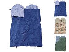 CI XXL Doppelschlafsack Mumienschlafsack Camping Schlafsack 200x130cm 3 Farben
