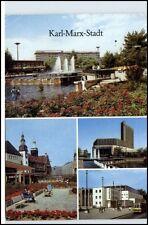 KARL-MARX-STADT CHEMNITZ DDR 1989 ua. Stadt-Bad, Rosenhof, Stadthalle uvm.