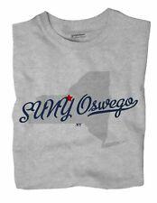 SUNY Oswego New York NY T-Shirt MAP