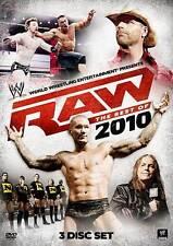 WWE RAW: The Best of 2010 DVD, Randy Orton, John Cena, The Miz, Nexus, -
