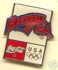 ATLANTA 96 ~ Coke Pin ~ BASEBALL USA